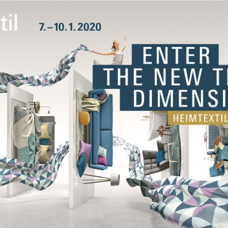 "International home interior and design exhibition ""Heimtextil"""