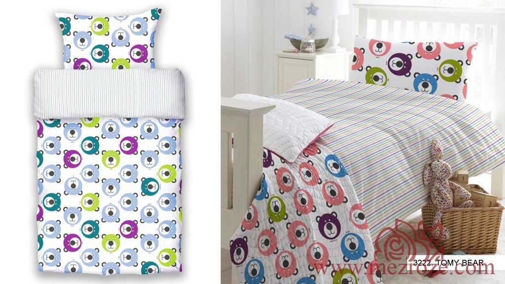 Bed linen and fabrics from the European manufacturer